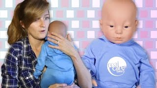 Engaged Couples Raise Robot Babies