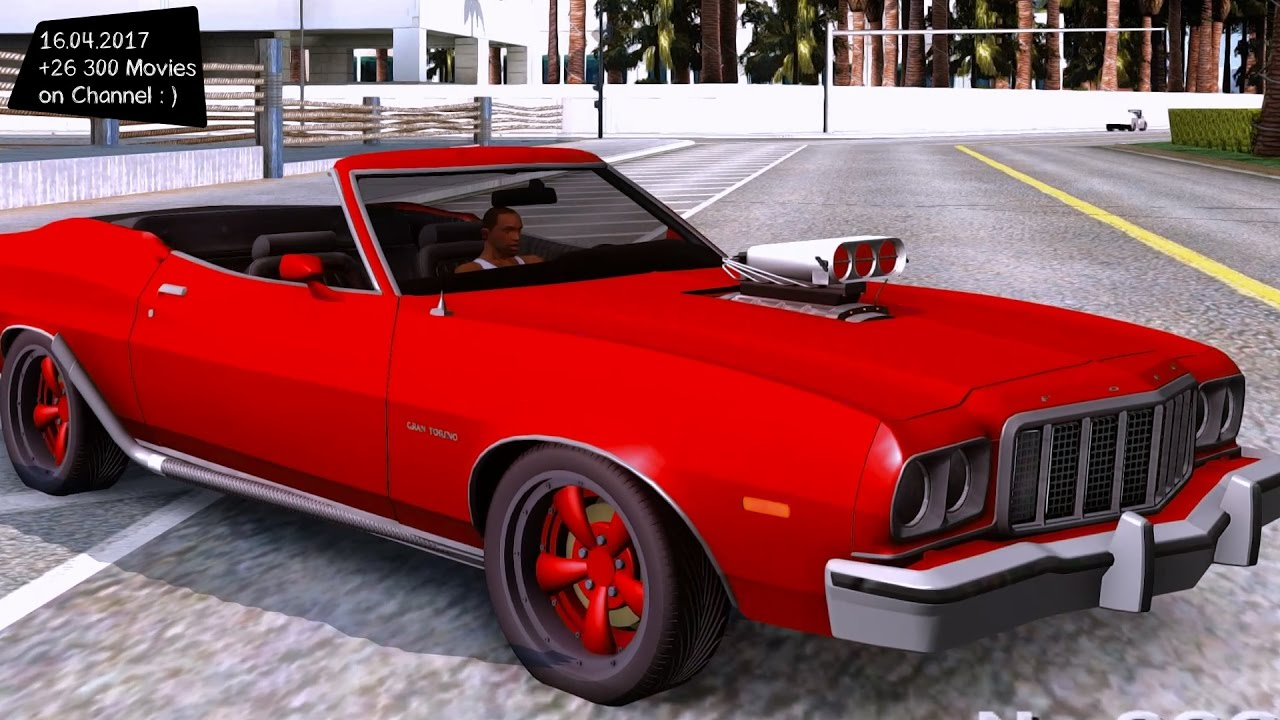 1975 Ford Gran Torino Cabrio New Crash Accident 2017 Enb Top Sd