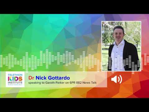 6PR Interview with Dr Nick Gottardo - WA Australian of the year nominee
