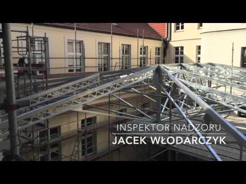 Zadaszenie dziedzińca Muzeum Narodowego w Szczecinie na potrzeby lapidarium