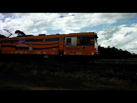 126 Wagon Loaded Coal Train on Goonyella System, Queensland