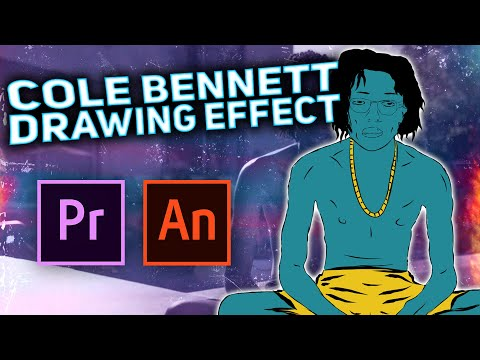 Cole Bennett CARTOON ANIMATION EFFECT - (Lil Tecca - Out Of Luck - EFFECT)