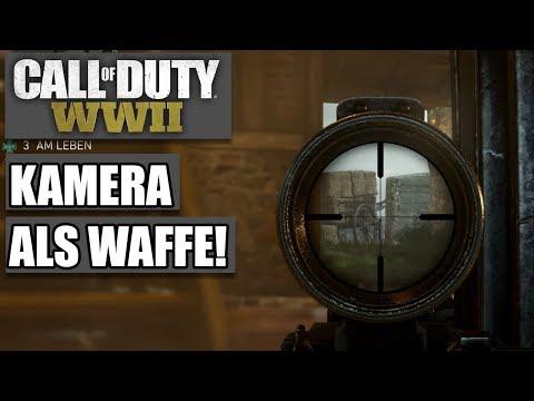 COD WWII Intern #06 - Kamera als Waffe - Call of Duty World War 2 MP