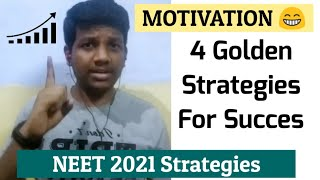 4 Tips For Success In NEET 2021 [Topper's Secret] NEET 2021 Strategies In Tamil | Motivation