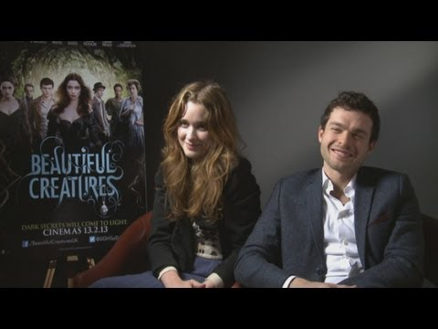Beautiful Creatures interview: Alice Englert and Alden Ehrenreich talk magic and romantic dates