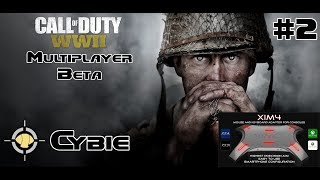 XIM 4 PS4 Call of Duty: WW2 Beta Gameplay - War Game Mode! - Operation Breakout