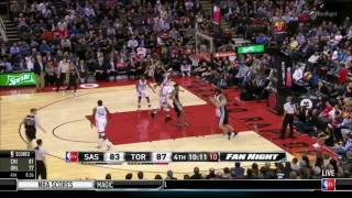 Spurs Passing & Sharing the Ball @ Toronto Raptors.