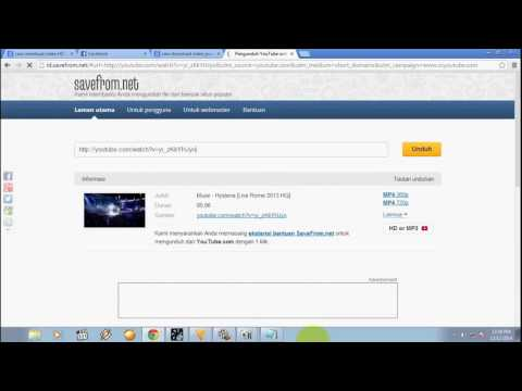 Cara download video dari youtube dengan huruf 'SS' 1