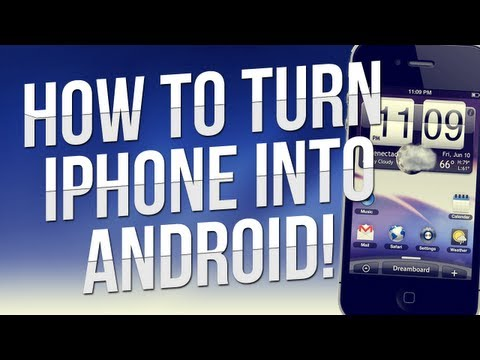 How To Turn Your iPhone Into an Android Phone w/ Cydia! (All Versions!)