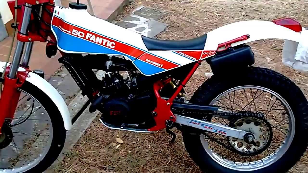 Fantic Motor trial 50 progress 1 sound fm 268