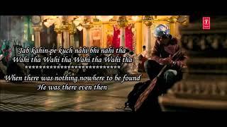 Kun Faya Kun   A R  Rahman, Javed Ali, Mohit Chauhan   Rockstar   Lyrical Video With Translation