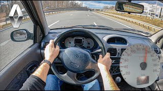 2001 Renault Clio II (1.4 16V 98 HP) | POV Test Drive #710 Joe Black