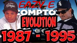 The Evolution Of Eazy-E of NWA 1987-1995 (Eric Wright) Timeline Fan Point Of View