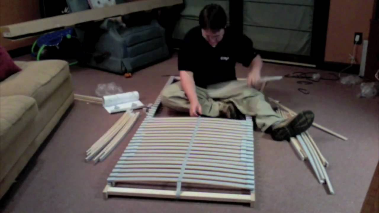 Ikea Sultan Laxeby Assembly Time Lapse