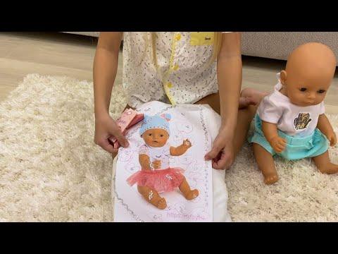 Алиса показывает СЮРПРИЗ для девочек ! Играем в дочки матери !