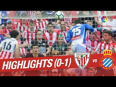 Resumen de Athletic Club vs RCD Espanyol (0-1)