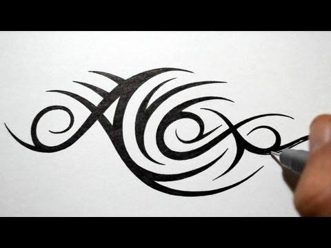 full download hidden tribal name tattoo design giveaway vertical names only. Black Bedroom Furniture Sets. Home Design Ideas