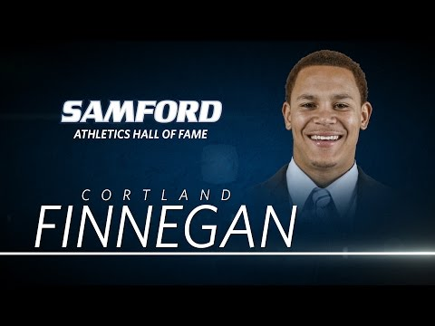 Samford Athletics Hall of Fame: Cortland Finnegan Induction Video
