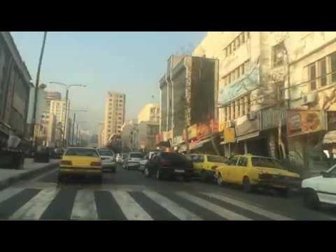 تهران سعادت آباد دی ماه 1394 Tehran Saadat Abad January 2016