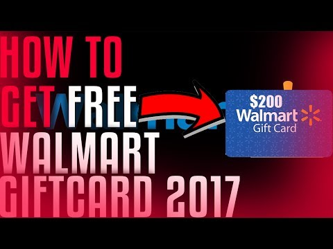 DOES IT WORK?!How TO Get Free Walmart Gift Card 2017