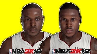 13 Players With NEW Face Scans in NBA 2K19
