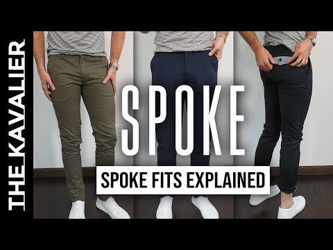 Spoke Chinos Fit Test - A,B,C Fits Explained (Sharps, Bulletproofs, Hardys, Denim)