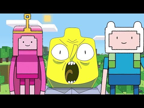 Adventure Time Goes Minecraft