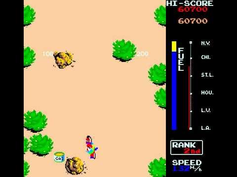 Arcade Game: Traverse USA/Zippy Race (1983 Irem)
