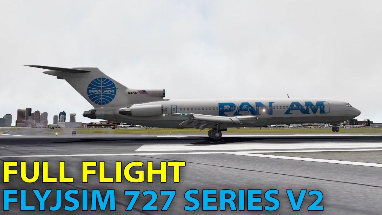 FlyJSim 727 Series v2 for X-plane 10 by Thomas Rasmussen