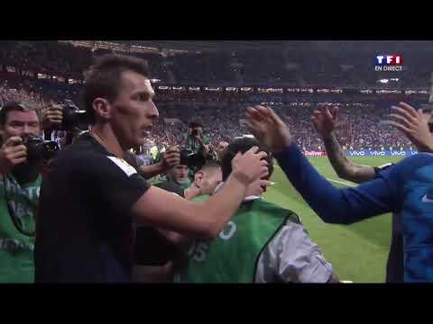 Croatie 2-1 Angleterre : Mandzukic envoie la Croatie au 7ème ciel !