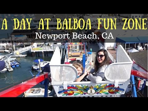 What to do near Anaheim | A Wild Day at Balboa Fun Zone in Newport Beach