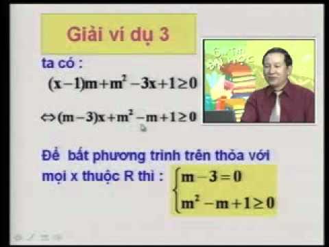 Ôn thi Đại học: Phương trình - Bất phương trình bậc nhất