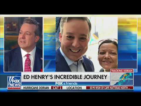 Ed Henry Returns To Fox News After Liver Transplant To Save His Sister