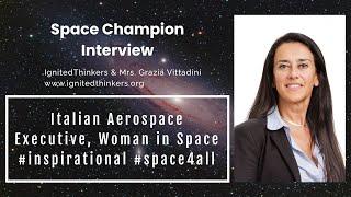 Mrs. Grazia Vittadini: Italian Aerospace Executive, Former CTO of Airbus #womeninspace #space4all