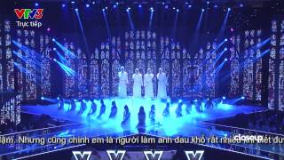 rolling in the deep - set fire to the rain - someone like you - nhom oplus - ntba 2014  liveshow 4