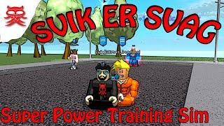 Svik is weak-Super Power Training Sim Danish Roblox