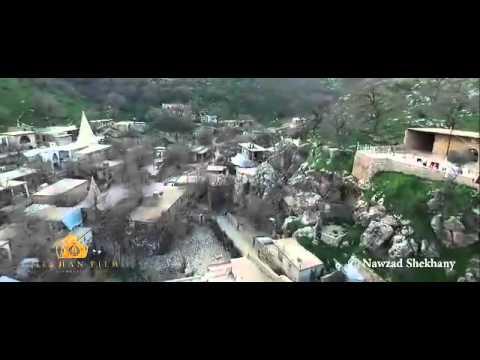 Aerials of Lalish Nurani by Yezidis Organization