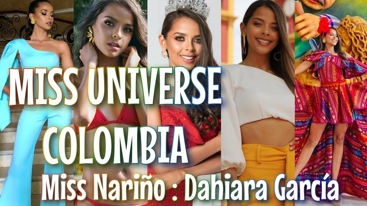 MISS UNIVERSE COLOMBIA: Miss Nariño 2020 - Dahiara García - YouTube