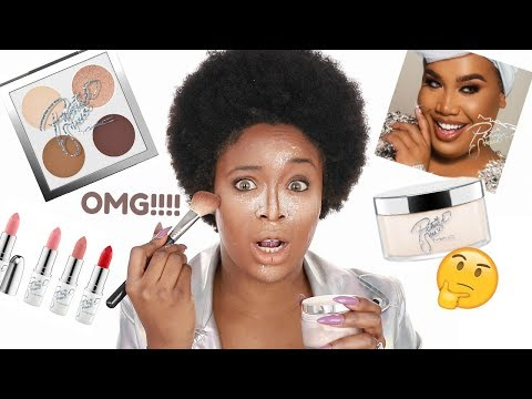 MAC X PATRICKSTARR COLLABORATION Demo + Patrick powder on brown skin!