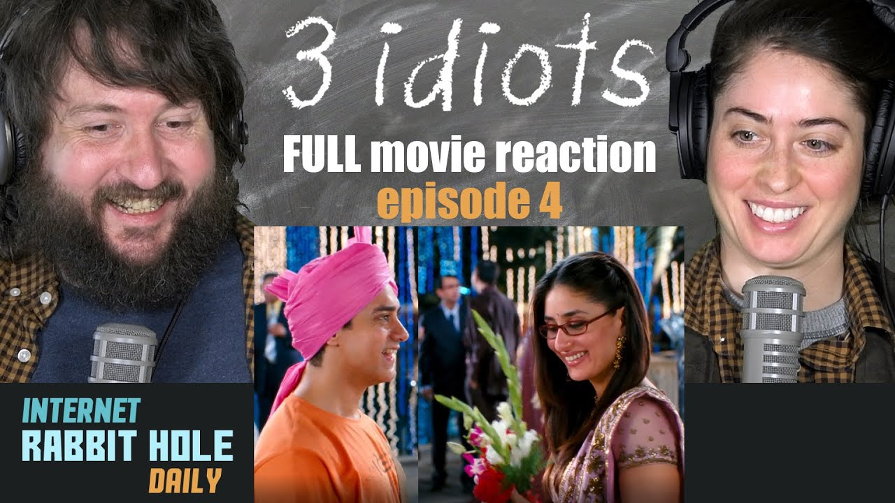 Download 3 IDIOTS   HINDI   FULL MOVIE REACTION SERIES   irh daily   EPISODE 4