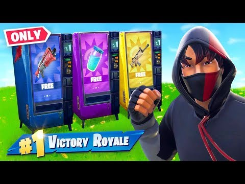 VENDING MACHINE *ONLY* Challenge in Fortnite