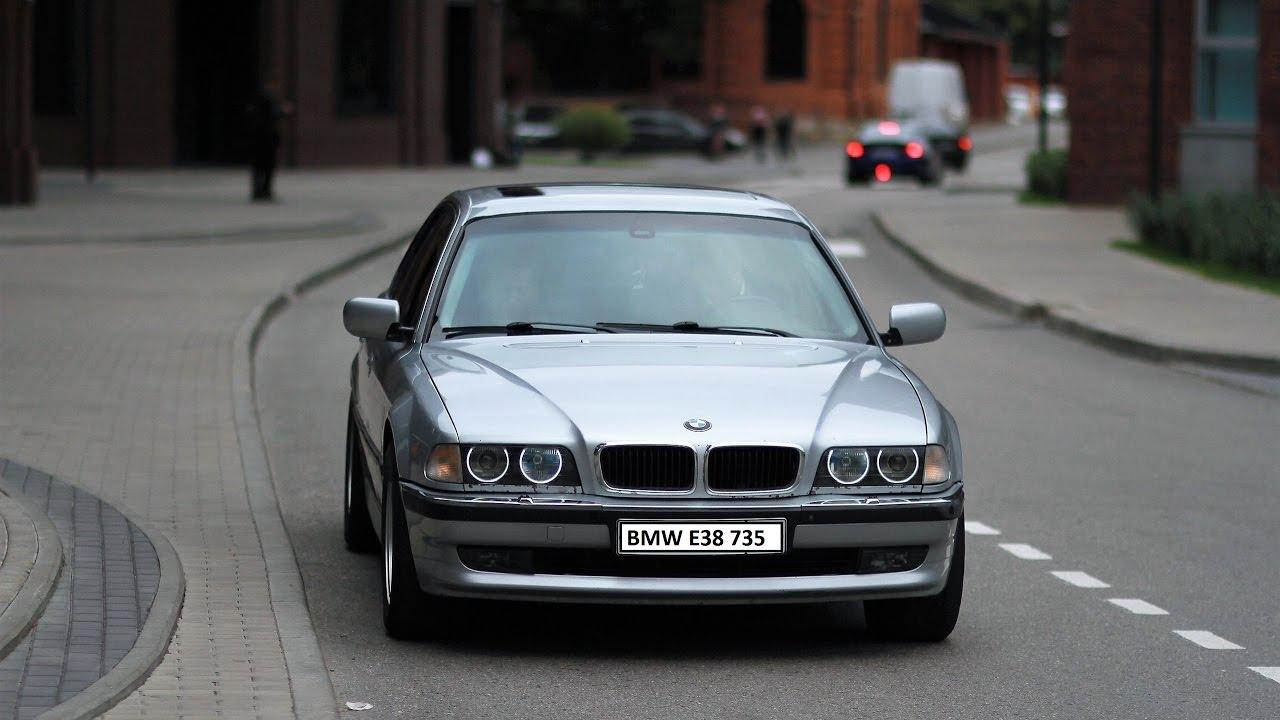 BMW E23 745i TURBO ЛЕГЕНДАРНАЯ АКУЛА