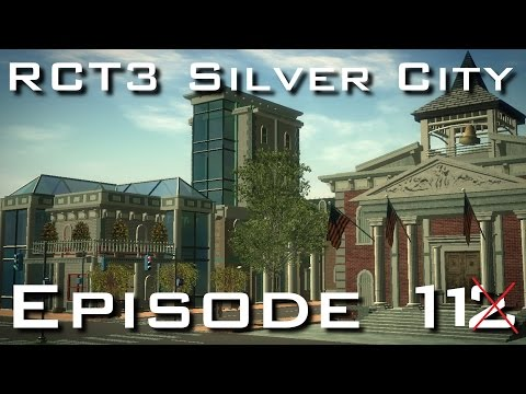 RCT3 Silver City - Episode 12 - Downtown Makeover
