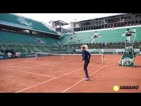 Tour Insights from Coach Nick Saviano at The French Open Center Court
