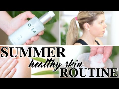 Summer Healthy Skin Routine // Organic & Cruelty Free // Natural Beautiful Life