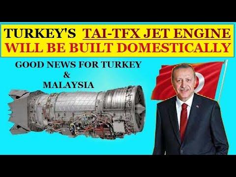 TFX Jet Engine Will Be Built Domestically   Turkey JET Engine Programm.