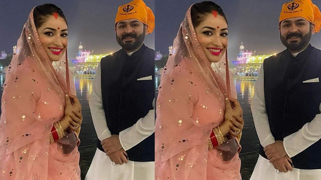 Yami Gautam is Pregnant and Seeking Blessings for her Baby in Amritsar Temple With Aditya Dhar