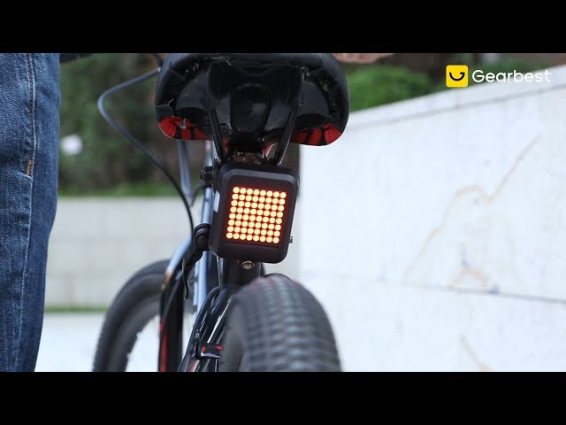 Classic Retro Bicycle Bike Rear  Indicator w// Light Lamp Cable Holder Bracket