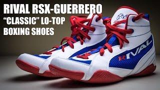 Rival Boxing Lo-Top Guerrero Boots Sapphire Blue