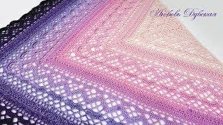 Красавица-шаль Klaziena. Часть 1. The beautiful shawl Klaziena. Part 1.